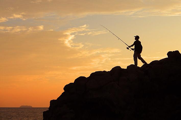 壱岐島の魚釣り