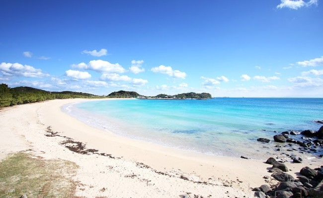 筒城浜海水浴場(つつきはま)