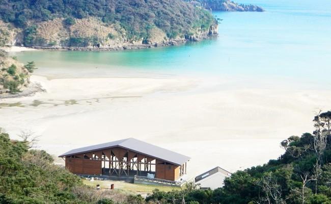 辰ノ島海水浴場(たつのしま)辰の島