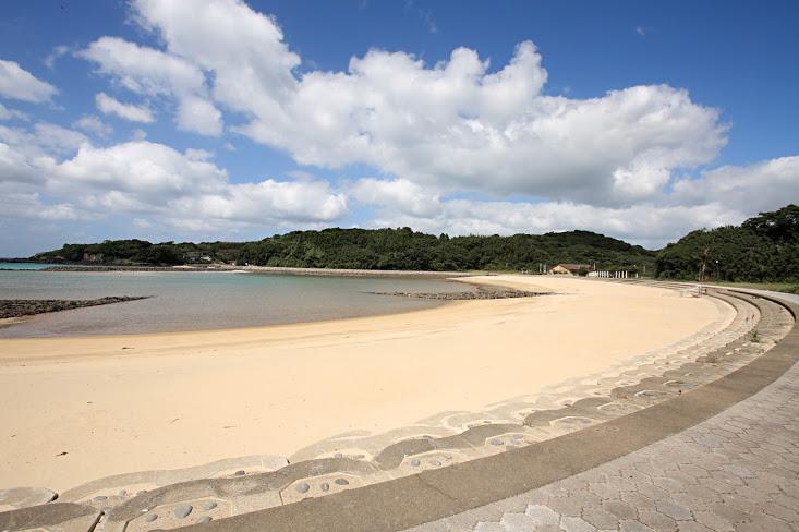 壱岐市小水浜海水浴場ツインズビーチ