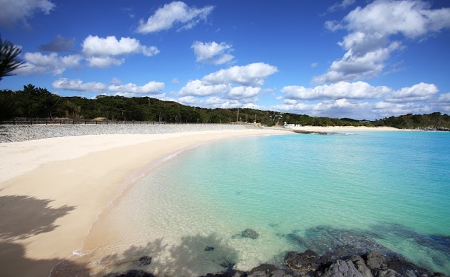 錦浜海水浴場(にしきはま)