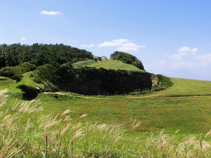 鬼の足跡(壱岐市牧崎公園)