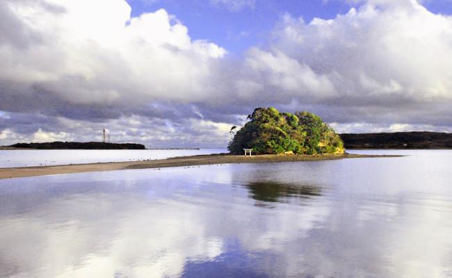 壱岐島「小島神社」参拝に挑戦!日本のモンサンミッシェルで恋愛祈願・恋愛成就(干潮時刻・アクセス)