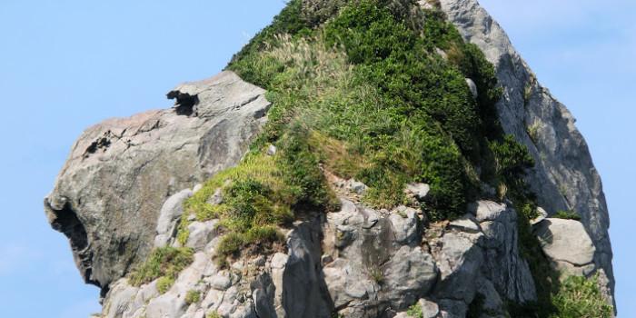 人間が作った?自然に出来た?「壱岐の猿岩」を超どアップで見てみた→あら?かわいい!