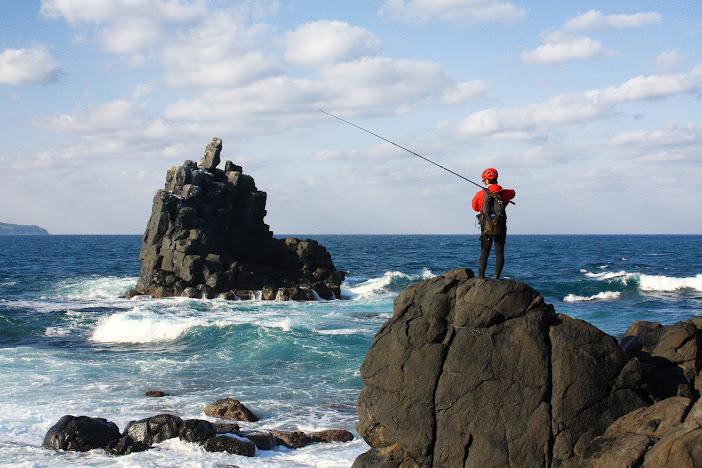 壱岐左京鼻で釣り