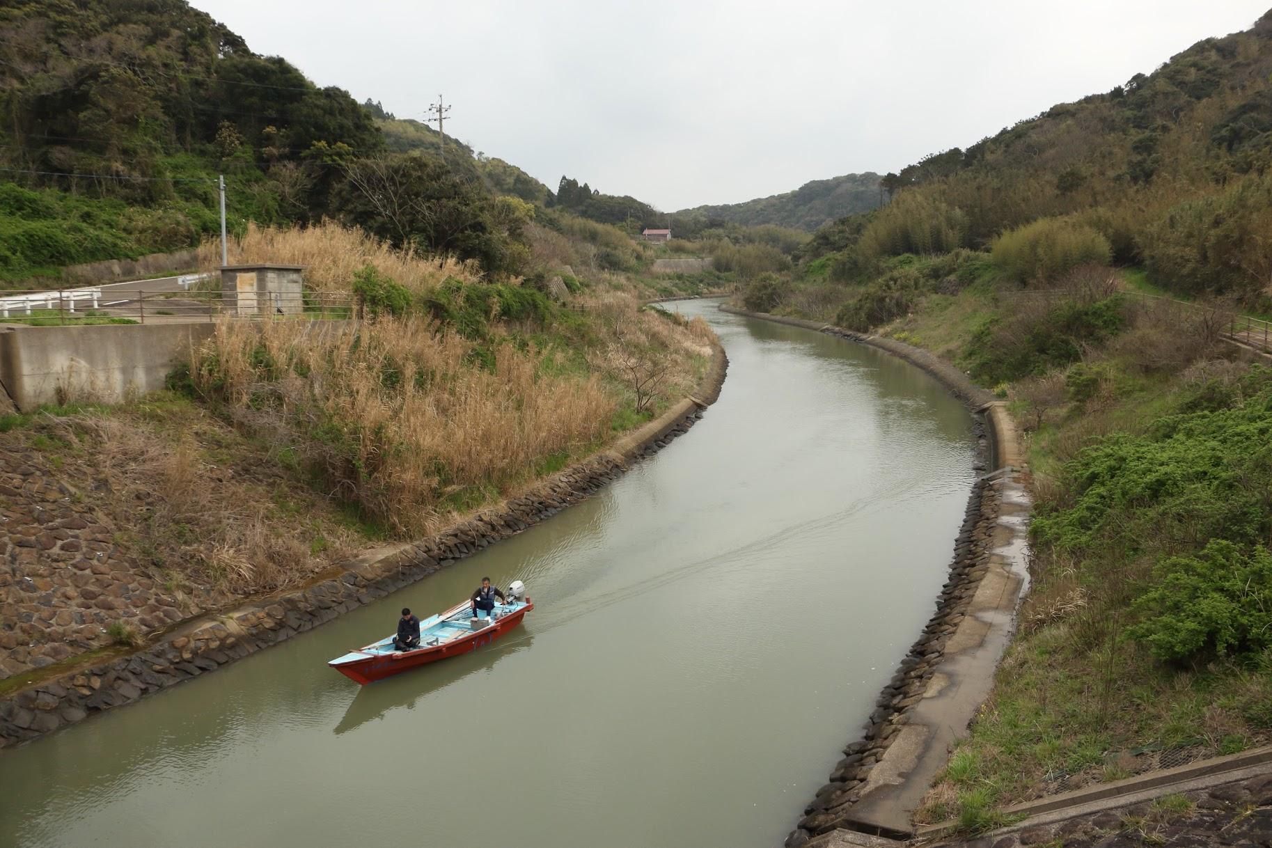 古代航路「幡鉾川(はたほこがわ)