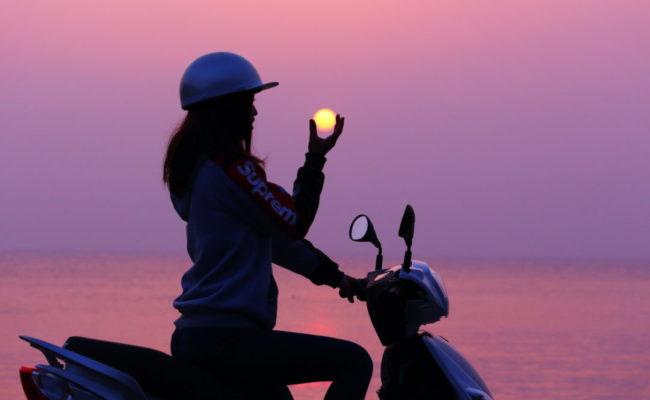 イキエコ電動バイクで、壱岐島を自由に!