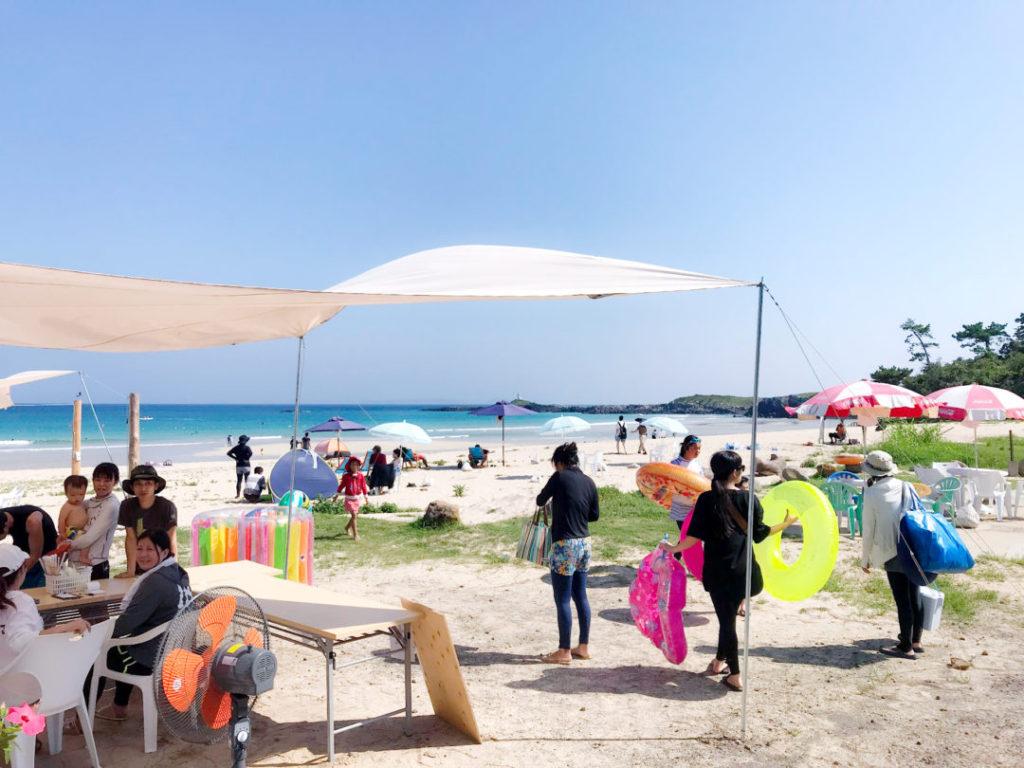 大浜売店(海の家)